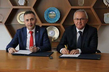 Eğitim ve Proje Hazırlama İş Birliği Protokolü İmzalandı