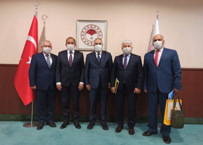 TAB Heyetinden Tarım ve Orman Bakan Yardımcısı Tunç'a Ziyaret