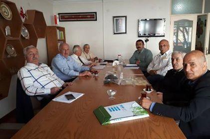 Bal Üreticileri Merkez Birliği'nin TAB'a Ziyareti